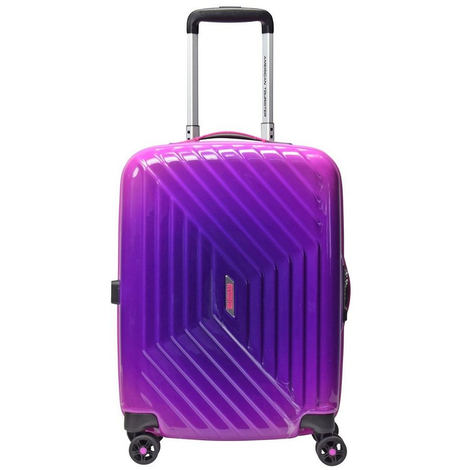American Tourister American Tourister Air Force 1 Gradient Spinner 4-Rollen Kabinen in gradient pink