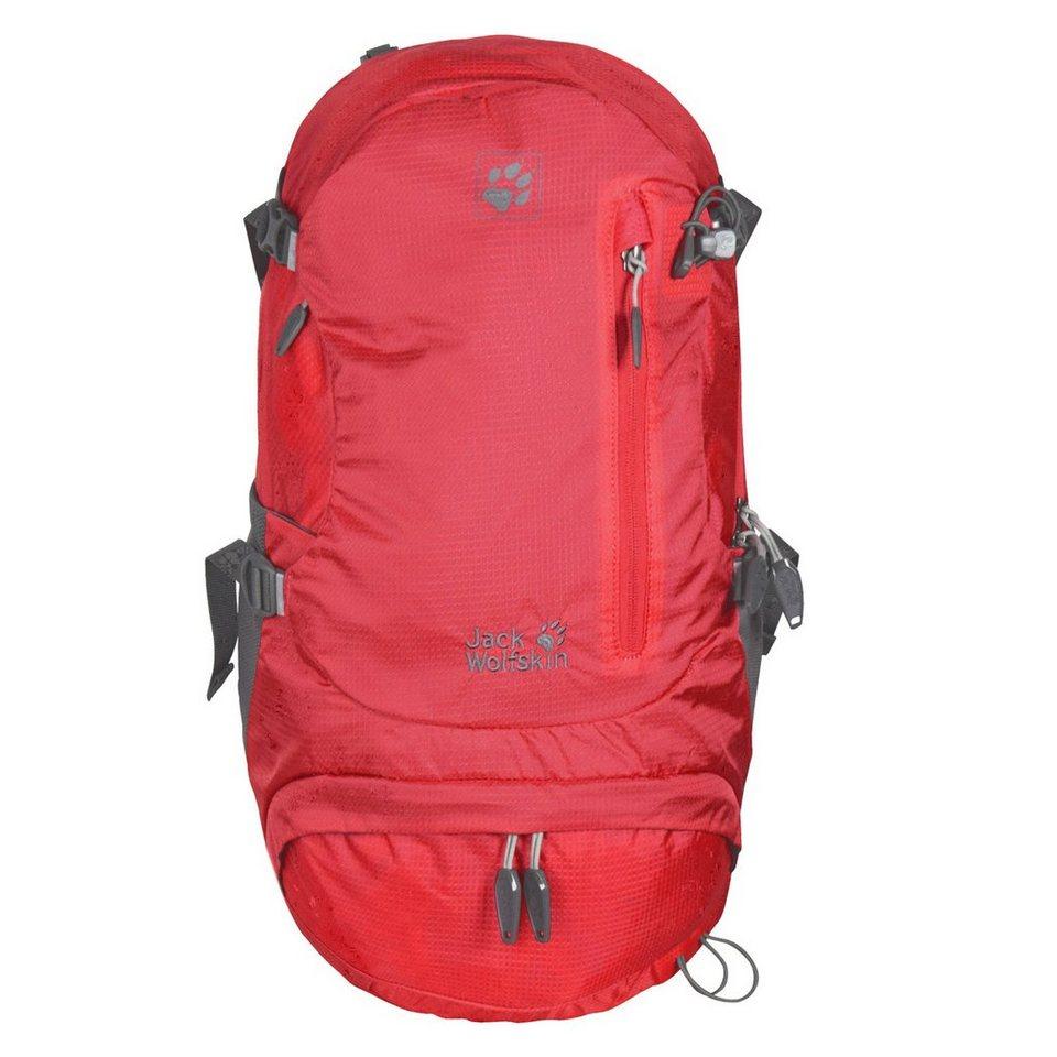 Jack Wolfskin Jack Wolfskin Daypacks & Bags ACS Hike 22 Women Pack Rucksack 58 in hibiscus red