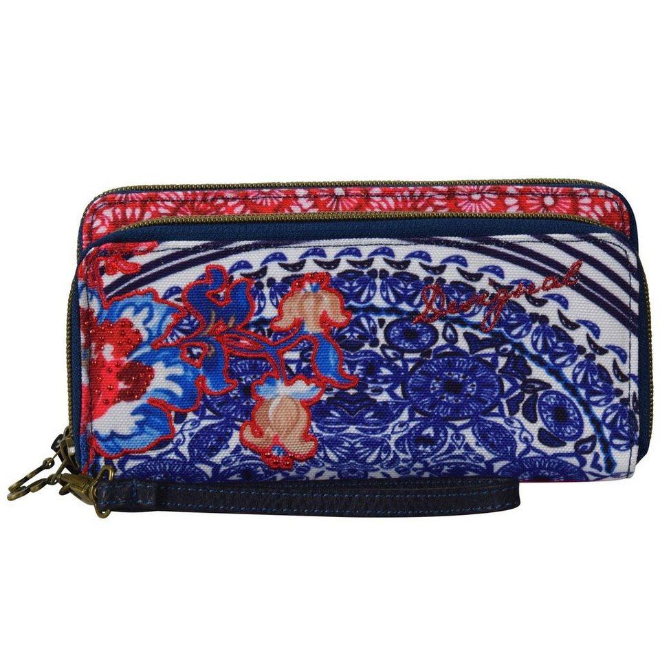 Desigual Desigual BOLS Two Levels Kimera Clutch Tasche 21 cm in azul mazarine