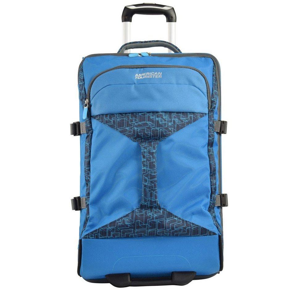 American Tourister American Tourister Road Quest 2-Rollen Reisetasche Duffle 80 cm in bluestar print