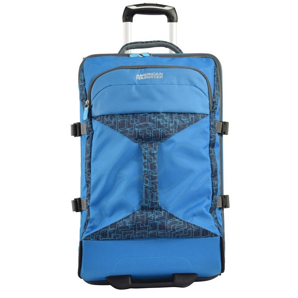 American Tourister Road Quest 2-Rollen Reisetasche Duffle 80 cm in bluestar print