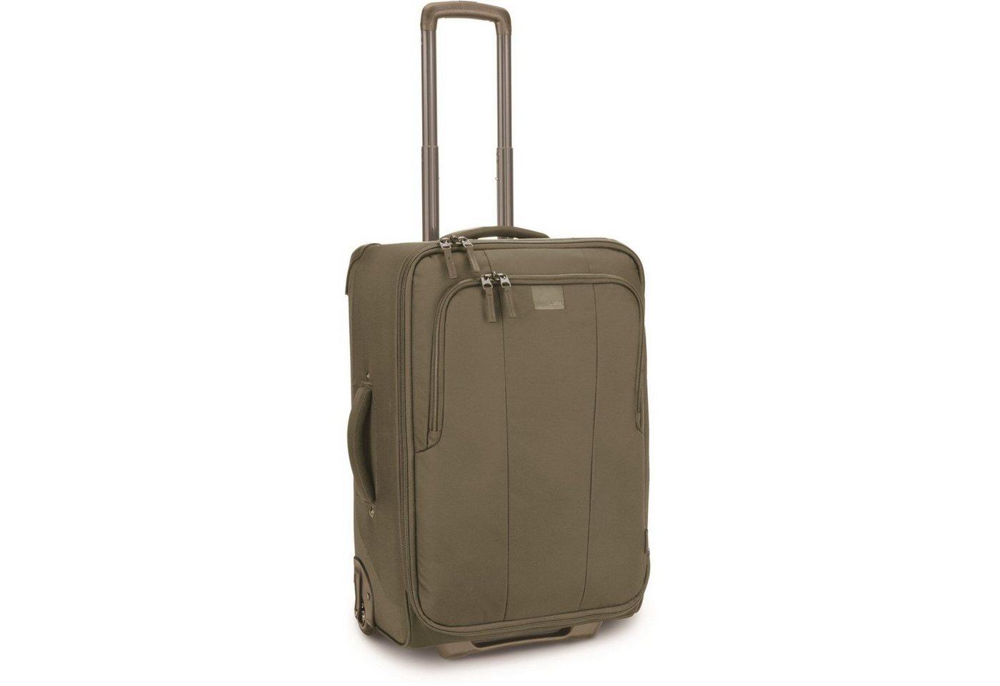 Pacsafe Toursafe LS25 2-Rollen Trolley 64 cm   Taschen > Koffer & Trolleys > Trolleys   Grün   Pacsafe