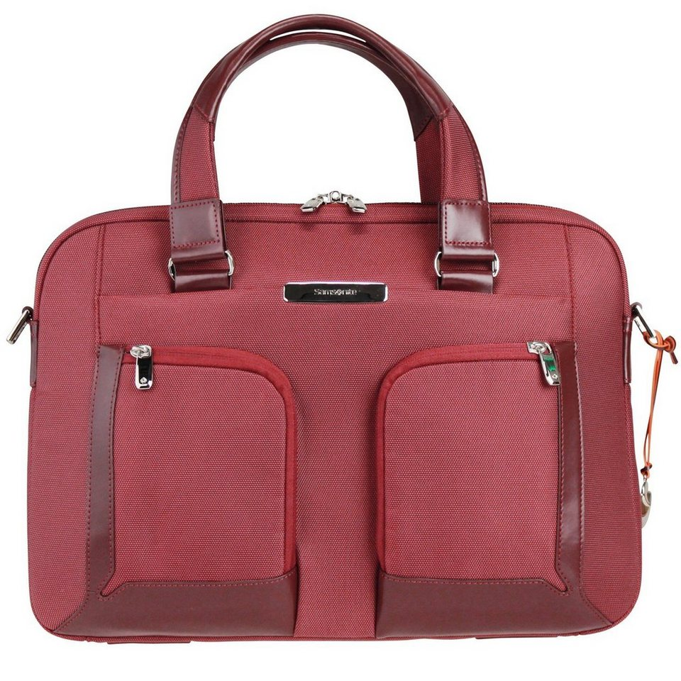 Samsonite Samsonite S-Teem Bailhandle Aktentasche 42 cm Laptopfach in rust