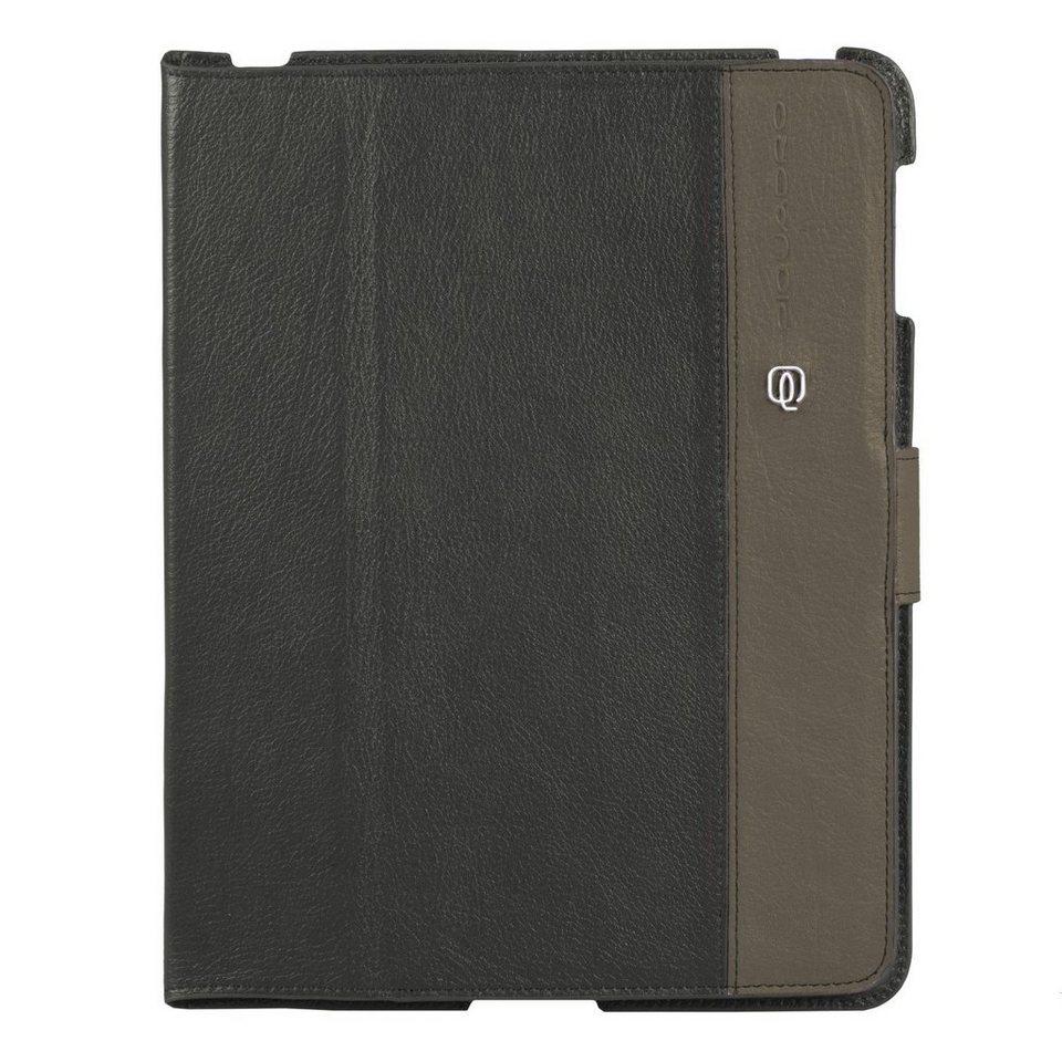 Piquadro Piquadro Vibe iPad Hülle Leder 25,5 cm in grey taupe