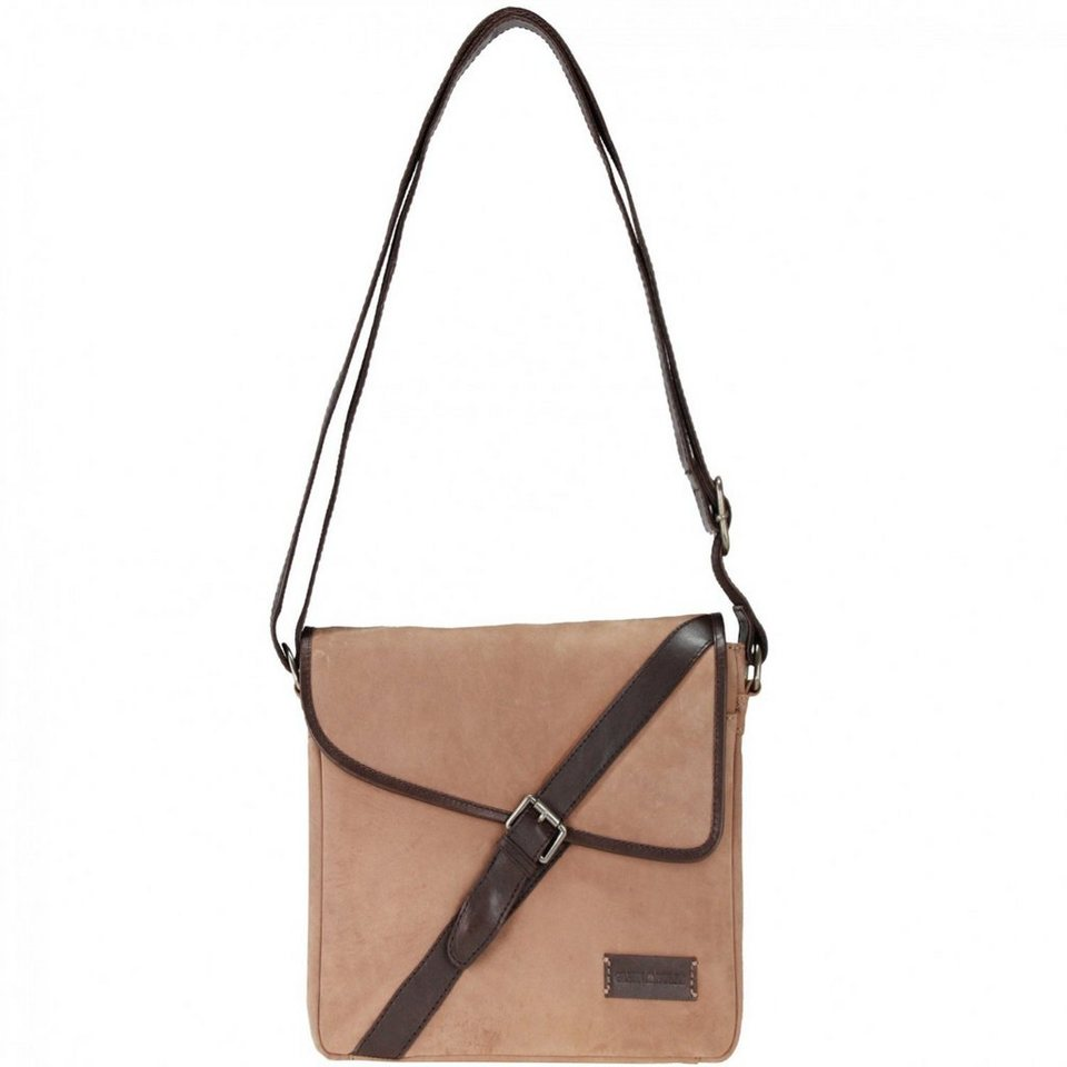 Greenburry Greenburry Longshore Kent Umhängetasche 27 cm Laptopfach in camel-saddle