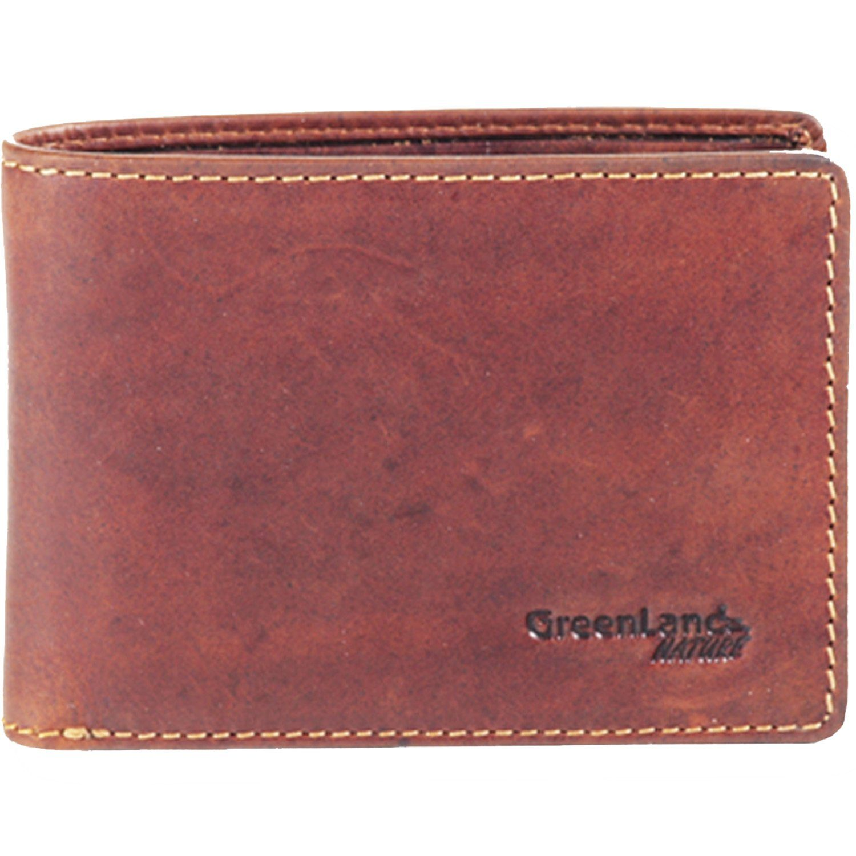 GREENLAND Rubin Geldbörse Leder 10,5 cm