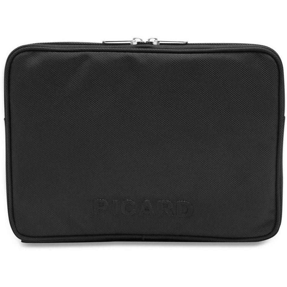 Picard Notebook Laptophülle 28 cm in schwarz