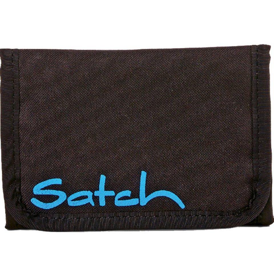 Satch pack Geldbörse 13,5 cm in Black Bounce