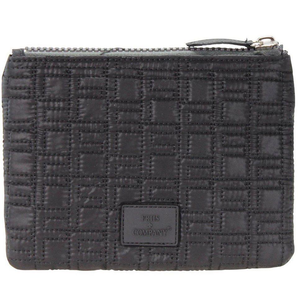Friis & Company Classics Vol. 1402 Taluna Small Clutch Tasche 20 cm in black