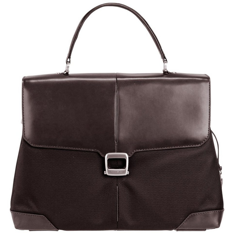 Samsonite Samsonite S-Oulite Briefcase Aktentasche 40 cm Laptopfach in dark brown