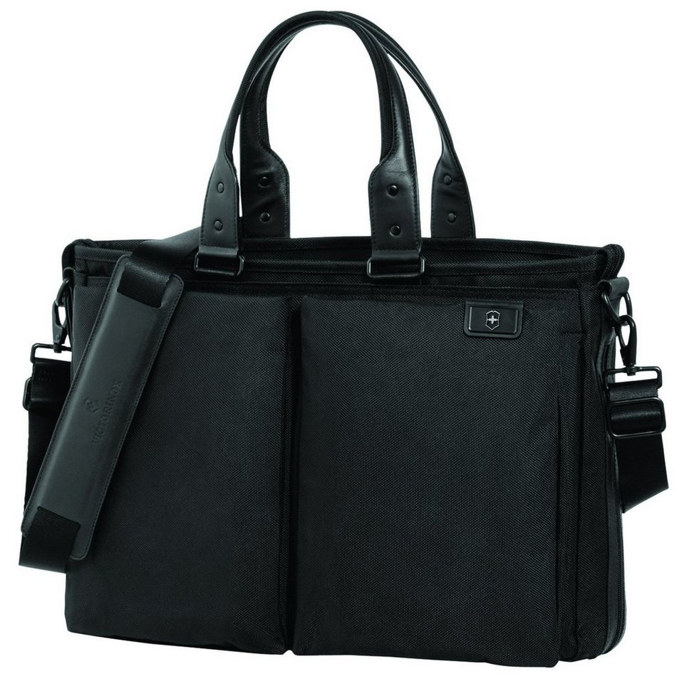 Victorinox Victorinox Lexicon Satchel Businesstasche 49 cm Laptopfach in black