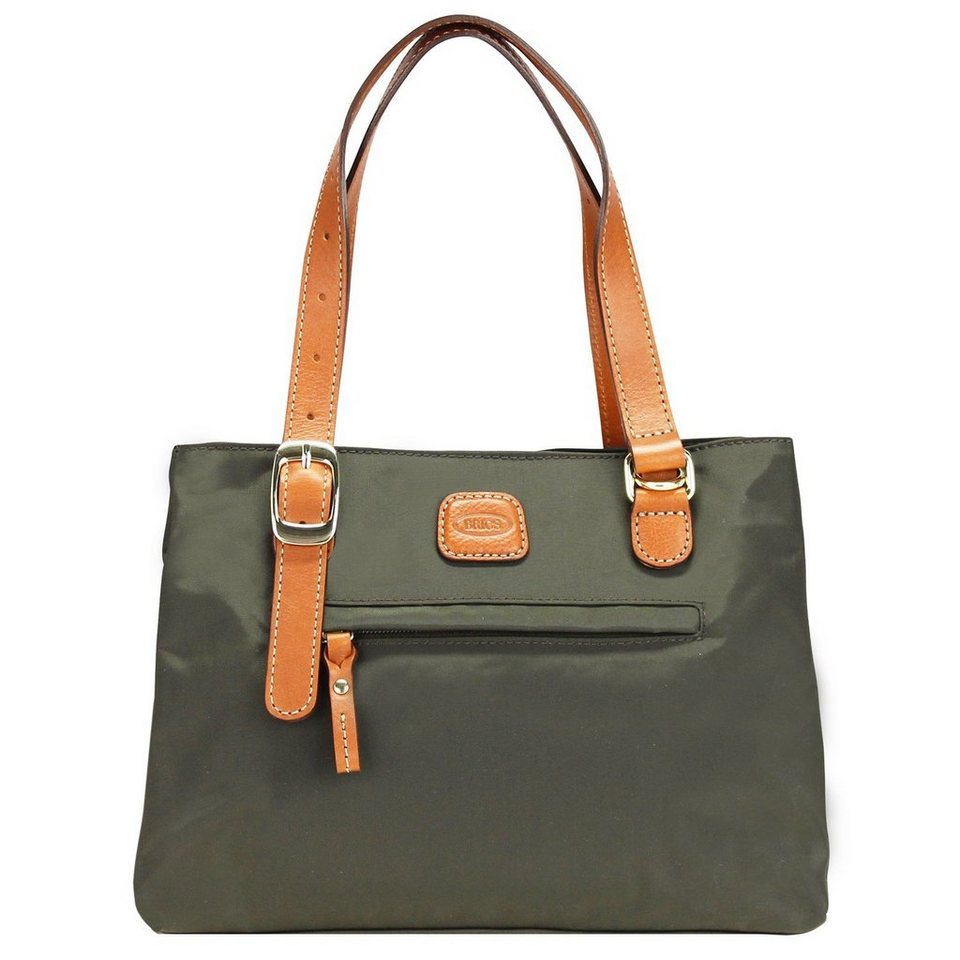 Bric's Bric's X-Bag Shopper 27 cm in olive