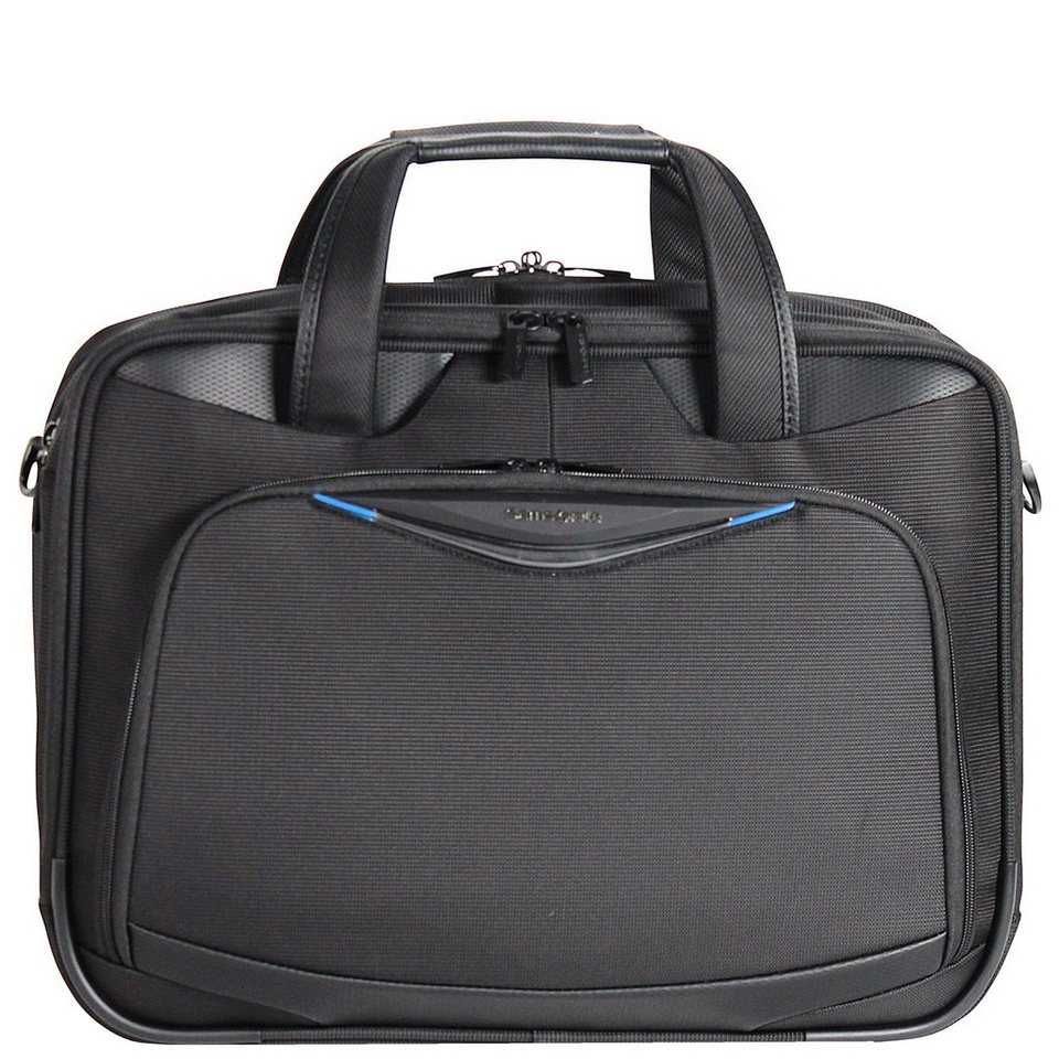 Samsonite Triforce Aktentasche 45 cm Laptopfach in black