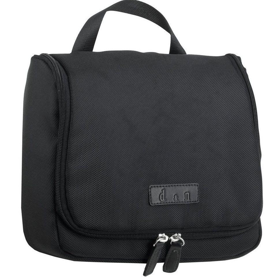 d & n Business & Travel Kulturtasche 26 cm in schwarz
