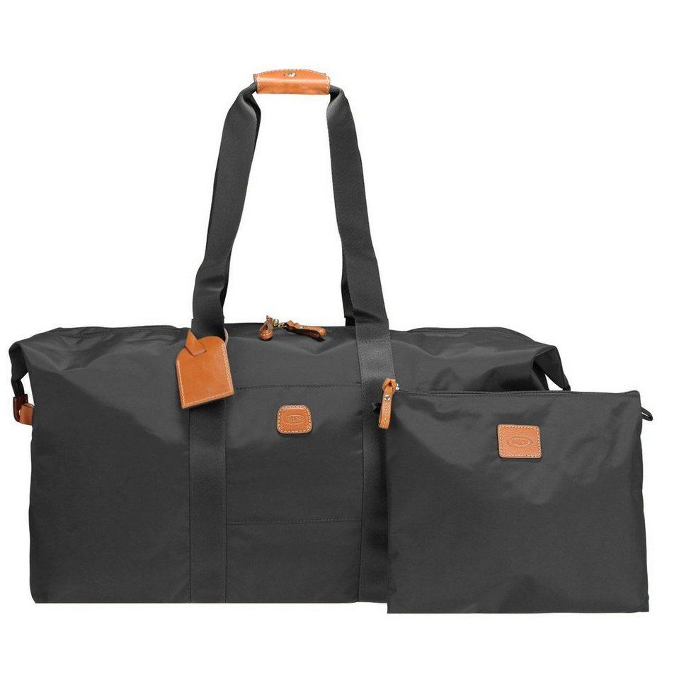 Bric's Bric's X-Bag Reisetasche 55 cm in schwarz/braun