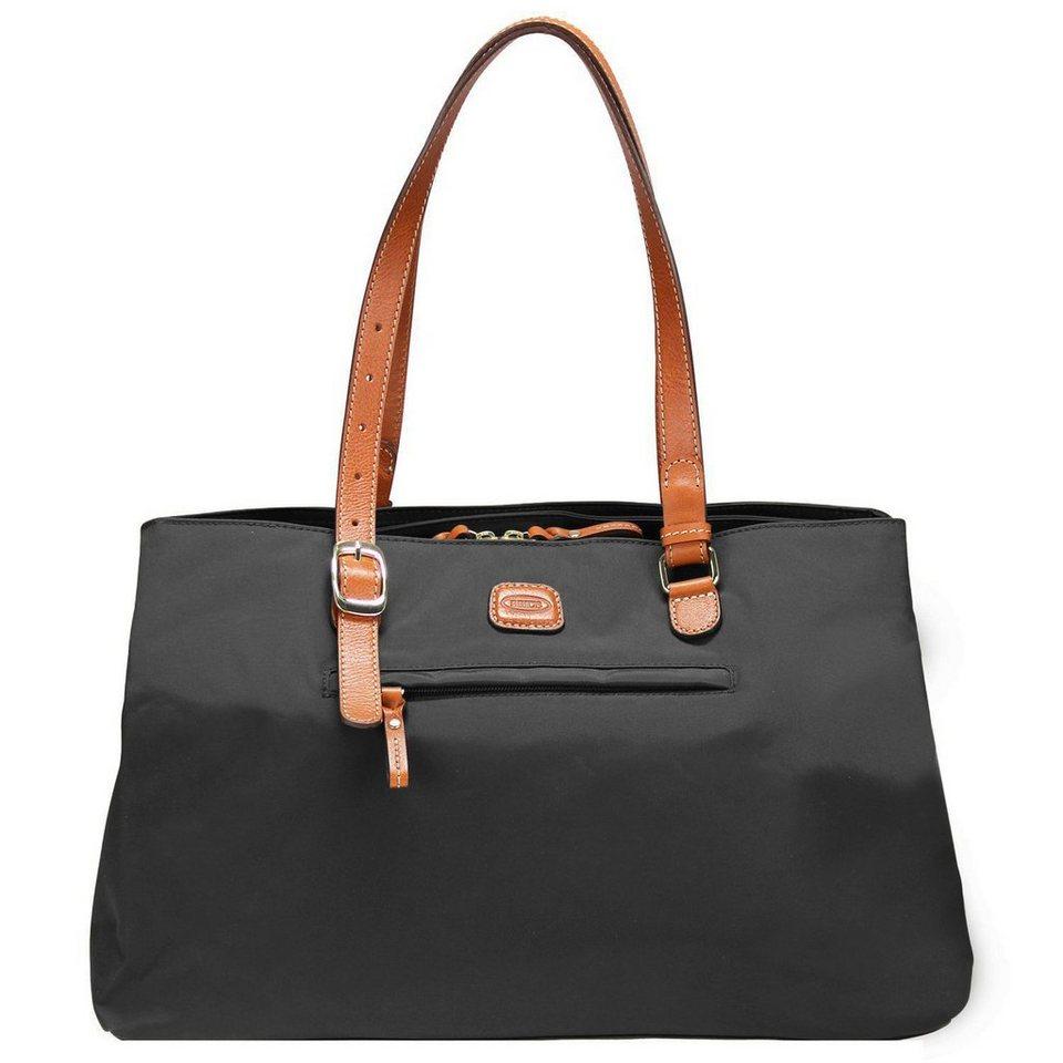 Bric's X-Bag Shopper 40 cm in schwarz/braun