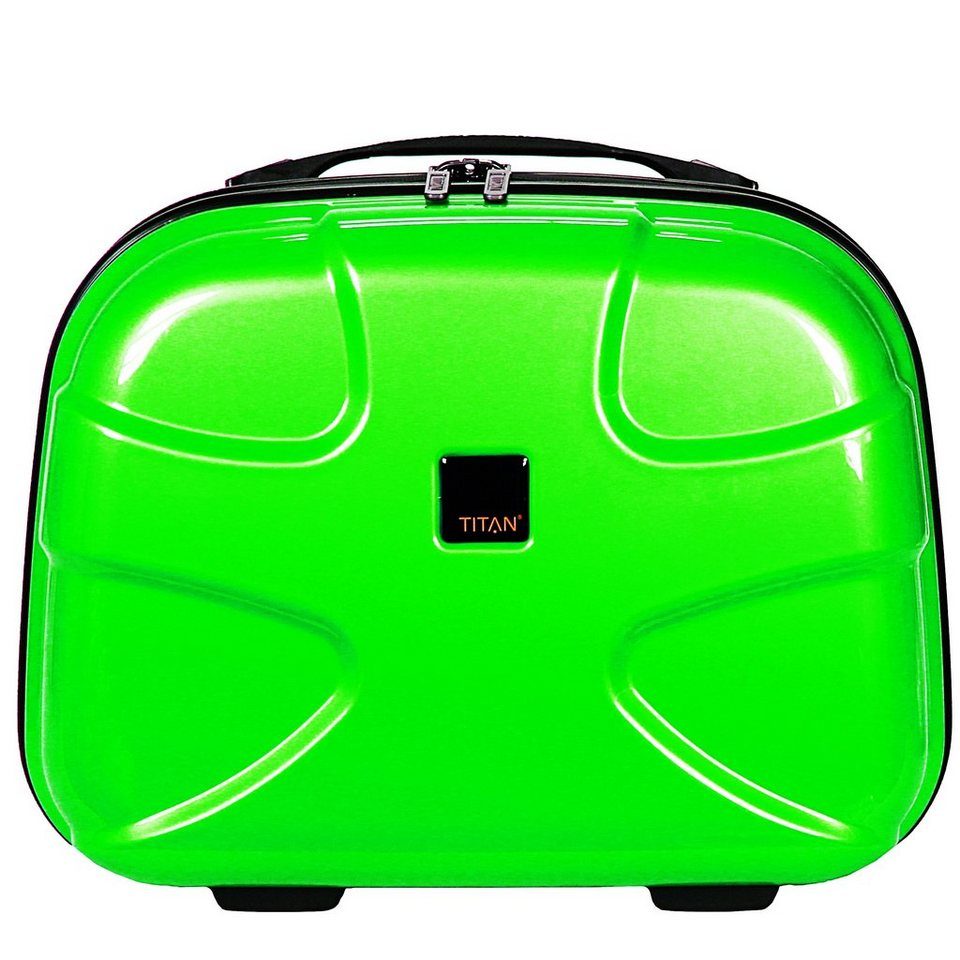 Titan Titan X2 Flash Beautycase 39 cm in plasma green