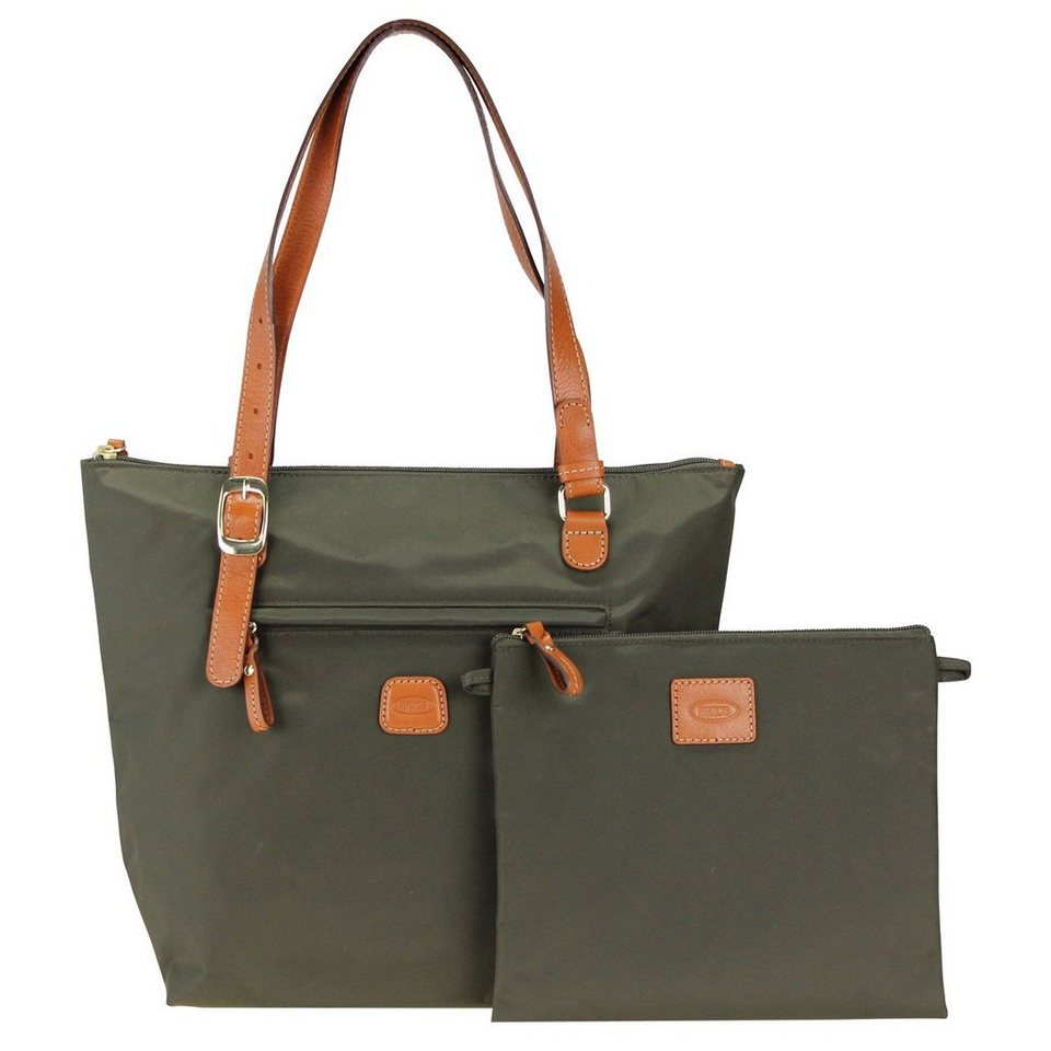 Bric's X-Bag Shopper Tasche 26 cm in olive