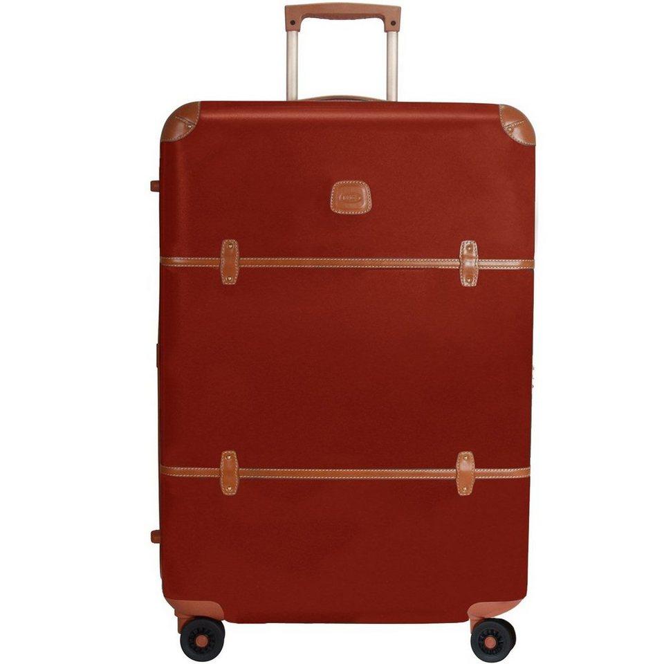 Bric's Bellagio 4-Rollen Trolley I 76 cm in rot