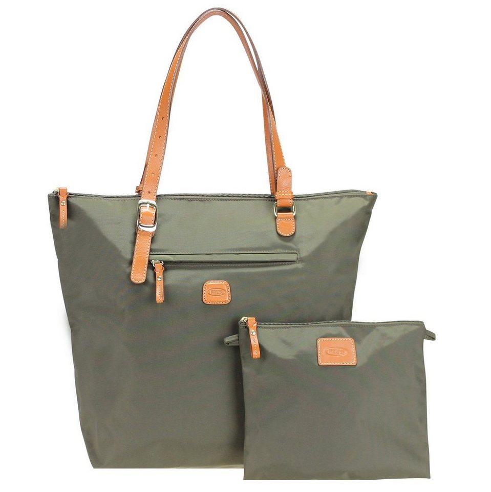 Bric's Bric's X-Bag Shopper 33 cm in olive