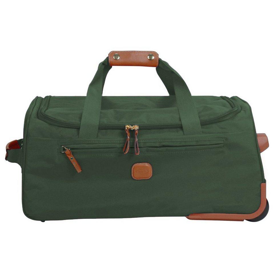 Bric's Bric's X-Travel Rollenreisetasche 55 cm in olive