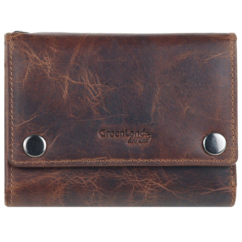 GREENLAND Montana Geldbörse Leder 12,5 cm