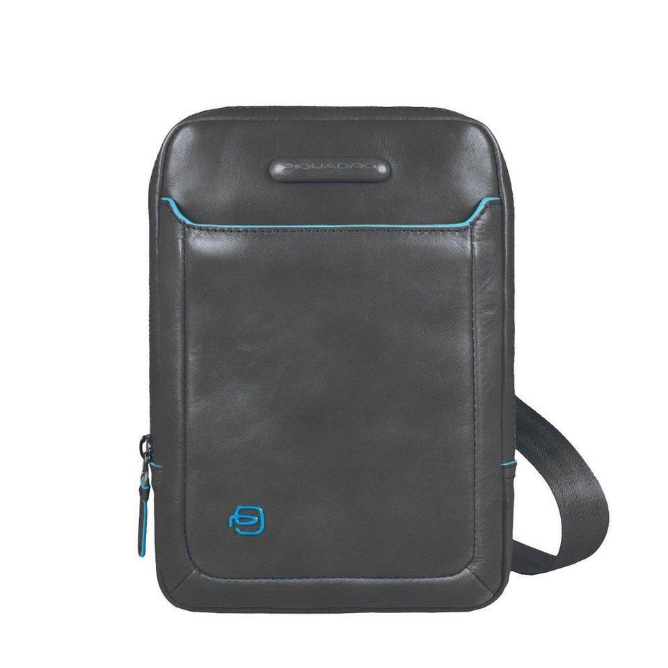 Piquadro Piquadro Blue Square iPad Hülle Leder 22 cm in anthrazit