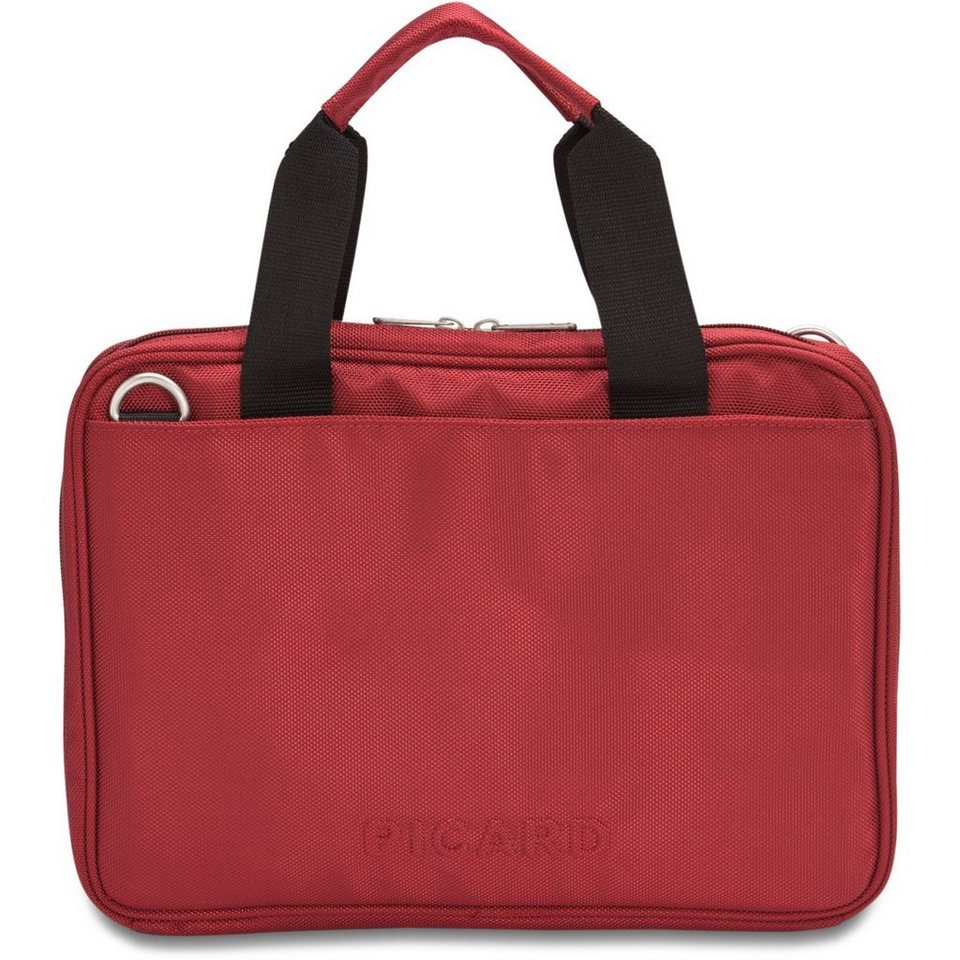 Picard Picard Notebook Laptoptasche 34 cm in rot