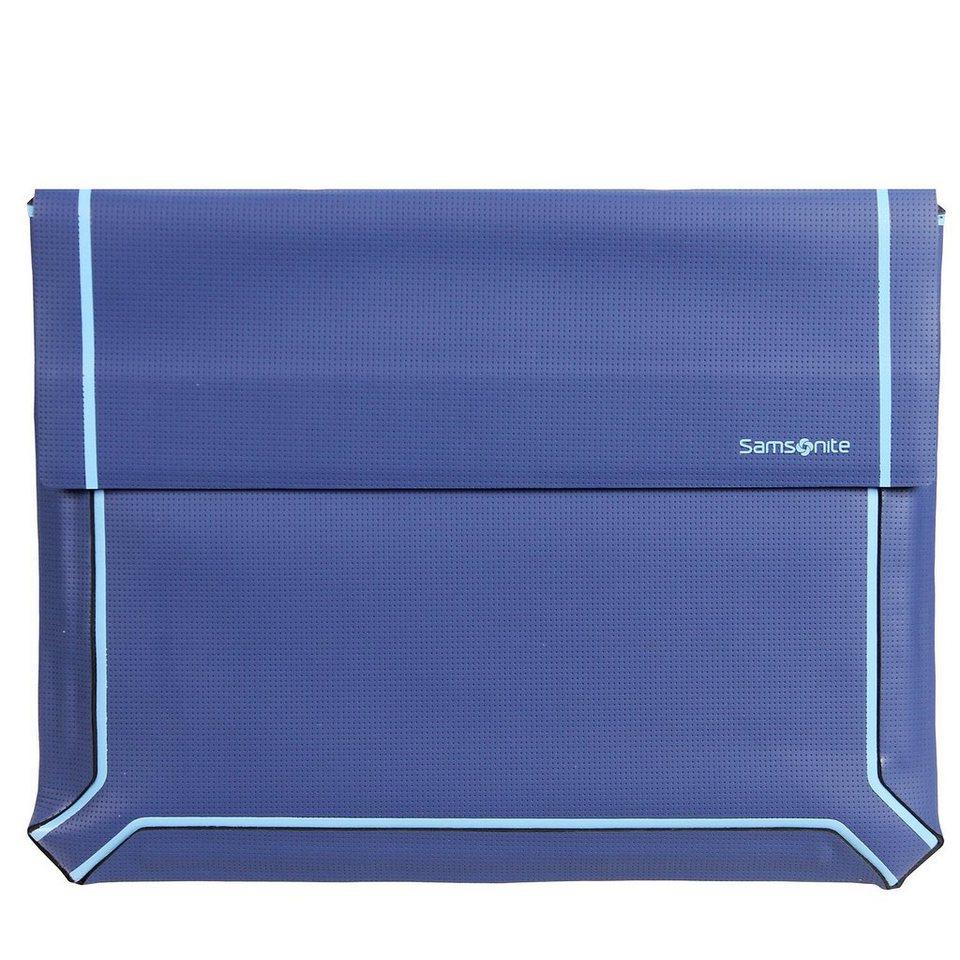 Samsonite Thermo Tech Laptop Sleeve Laptophülle 38,5 cm in blue-light blue
