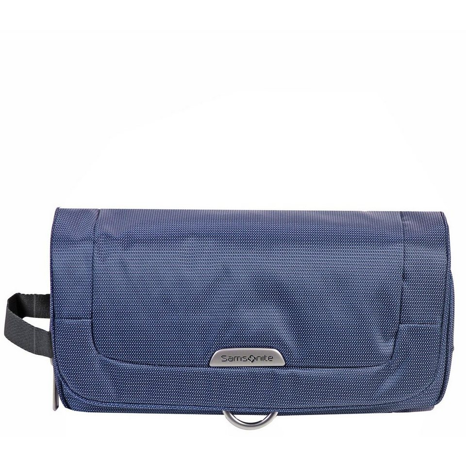 Samsonite New Spark Cosmetic Case Wraparound Toilet Kit Kulturtasche 25,5 in blue