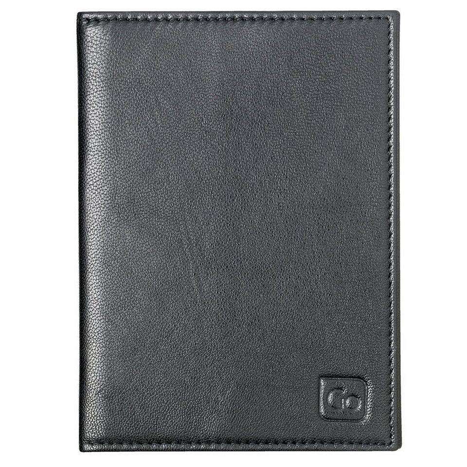 Go Travel Go Travel Geldbeutel + Geldgürtel RFID Reisepassetui Leder 10,5 in schwarz