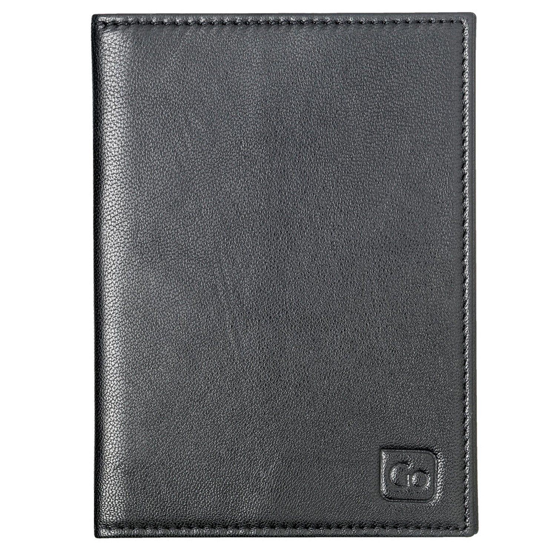 Go Travel Geldbeutel + Geldgürtel RFID Reisepassetui Leder 10,5 cm