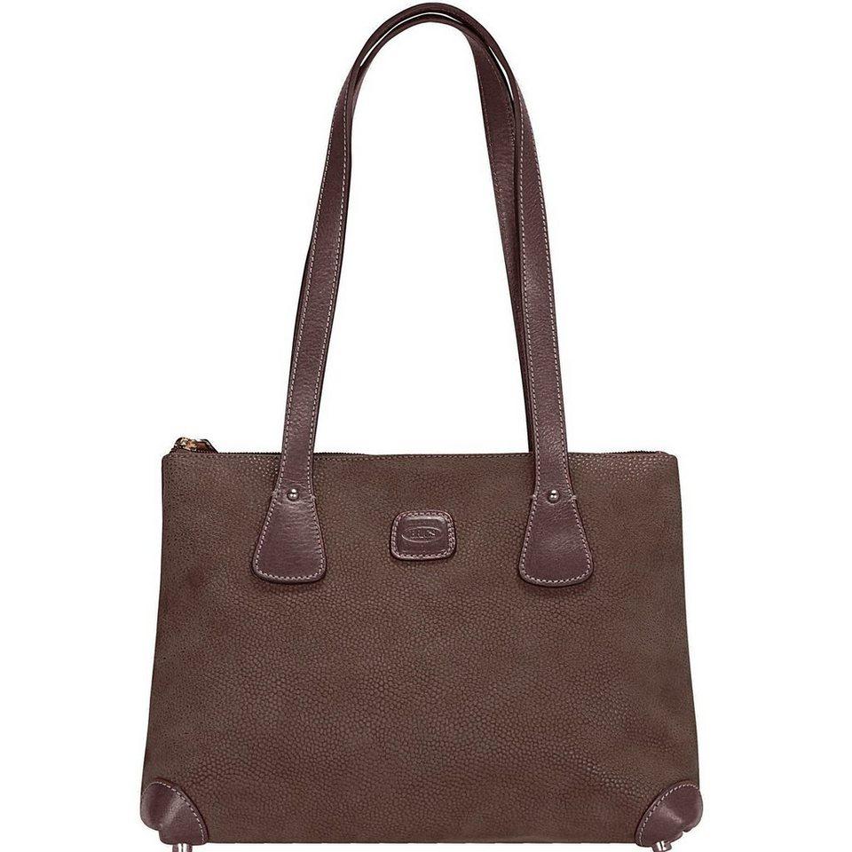 Bric's Life Giulia Shopper Tasche 31 cm in braun
