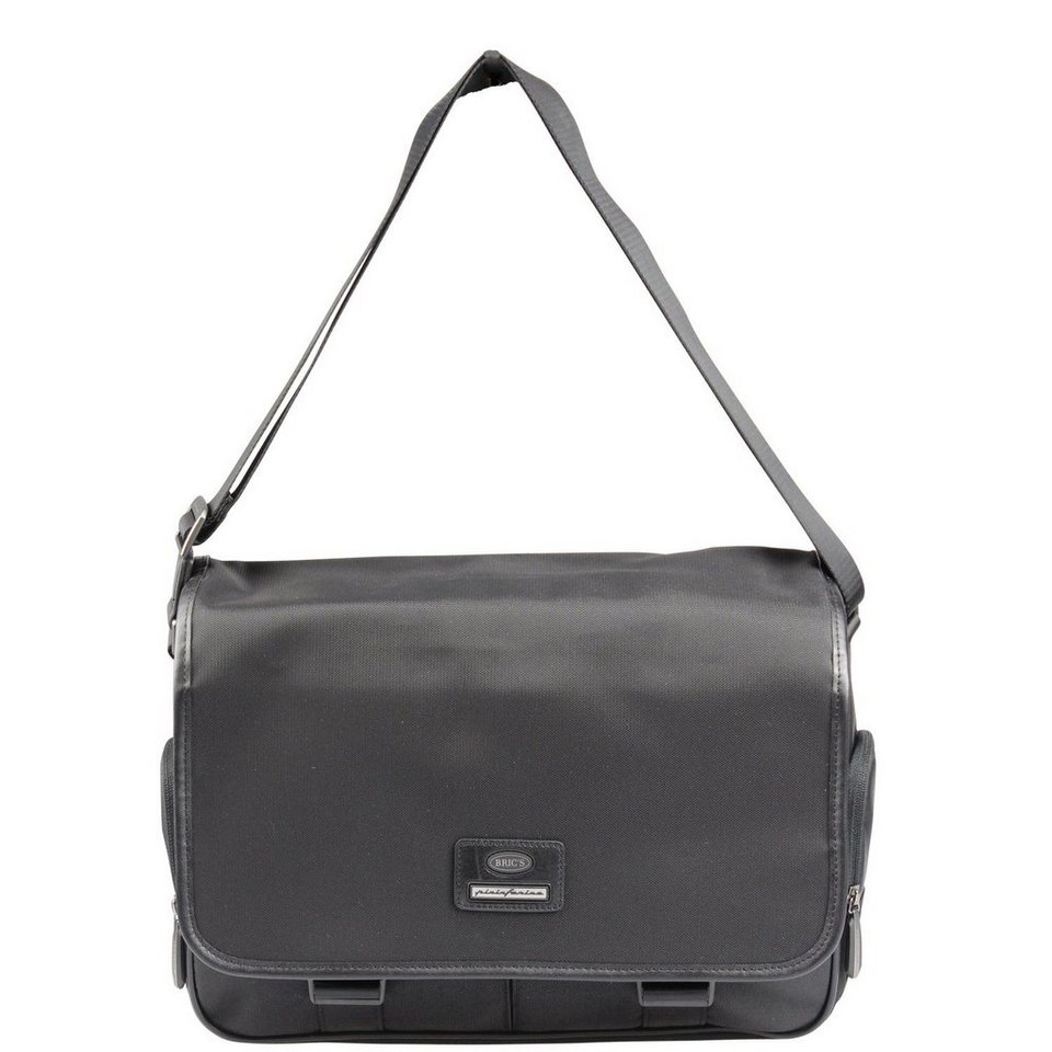 Bric's Mugello Messenger 38 cm in black