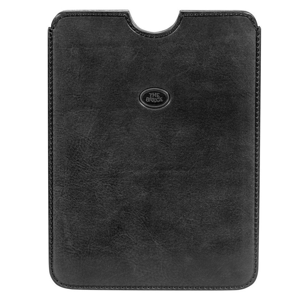 The Bridge Story Exclusive Mini Ipad Case Leder 16 cm in nero
