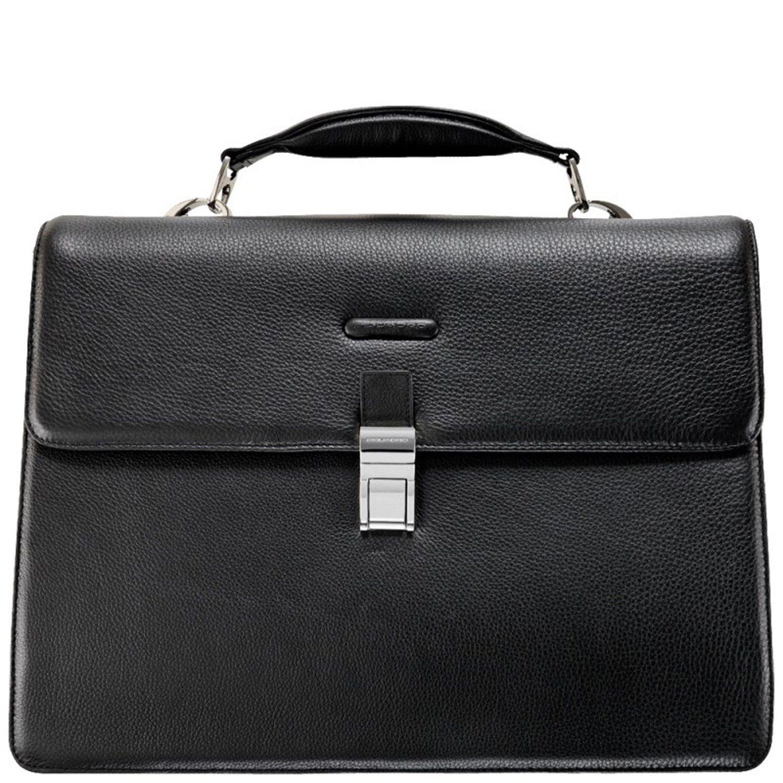 Piquadro Modus Aktentasche Leder 42 cm Laptopfach