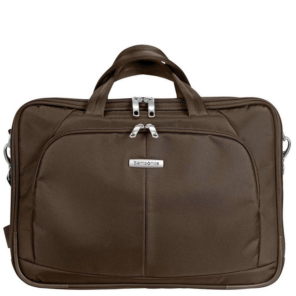 Samsonite Intellio Bailhandle Laptoptasche 45 cm in dark brown