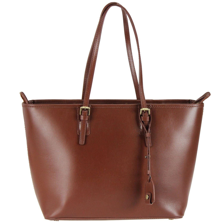 Marc O'Polo Heather Shopper Tasche Leder 40 cm