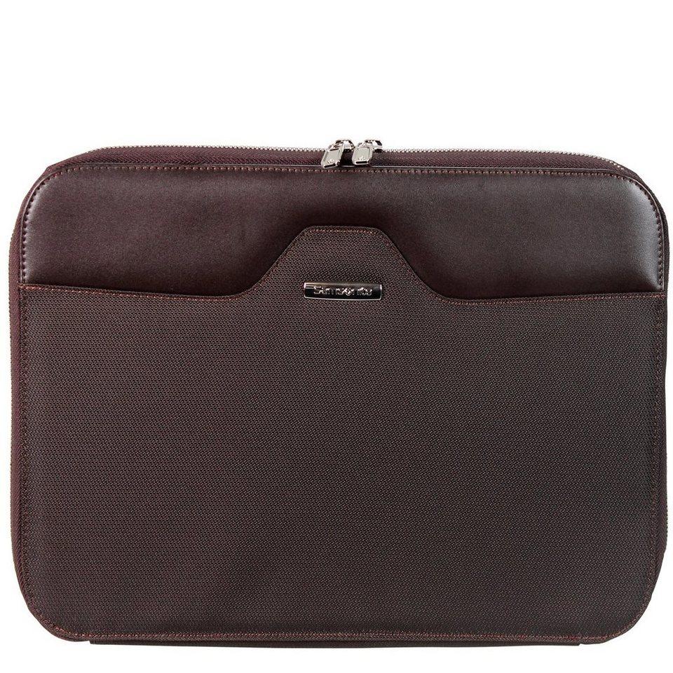 Samsonite S-Thetic Portfolio Sleeve Laptophülle 37 cm in dark brown