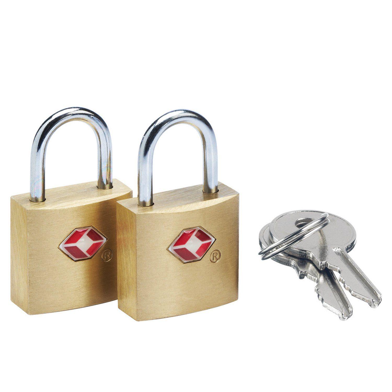 Go Travel Gepäckzubehör Solid Safe Secure TSA-Schlüsselschloss 2tlg.