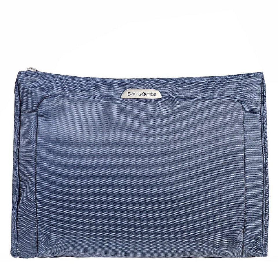 Samsonite Samsonite New Spark Cosmetic Case Kulturtasche 33 cm in blue