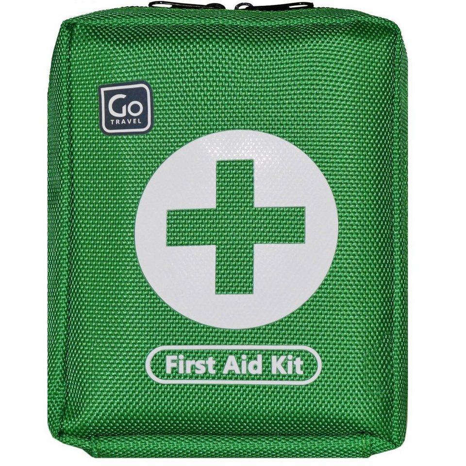Go Travel Go Travel Gesundheit + Komfort First Aid Kit Erste-Hilfe-Set Tas in green