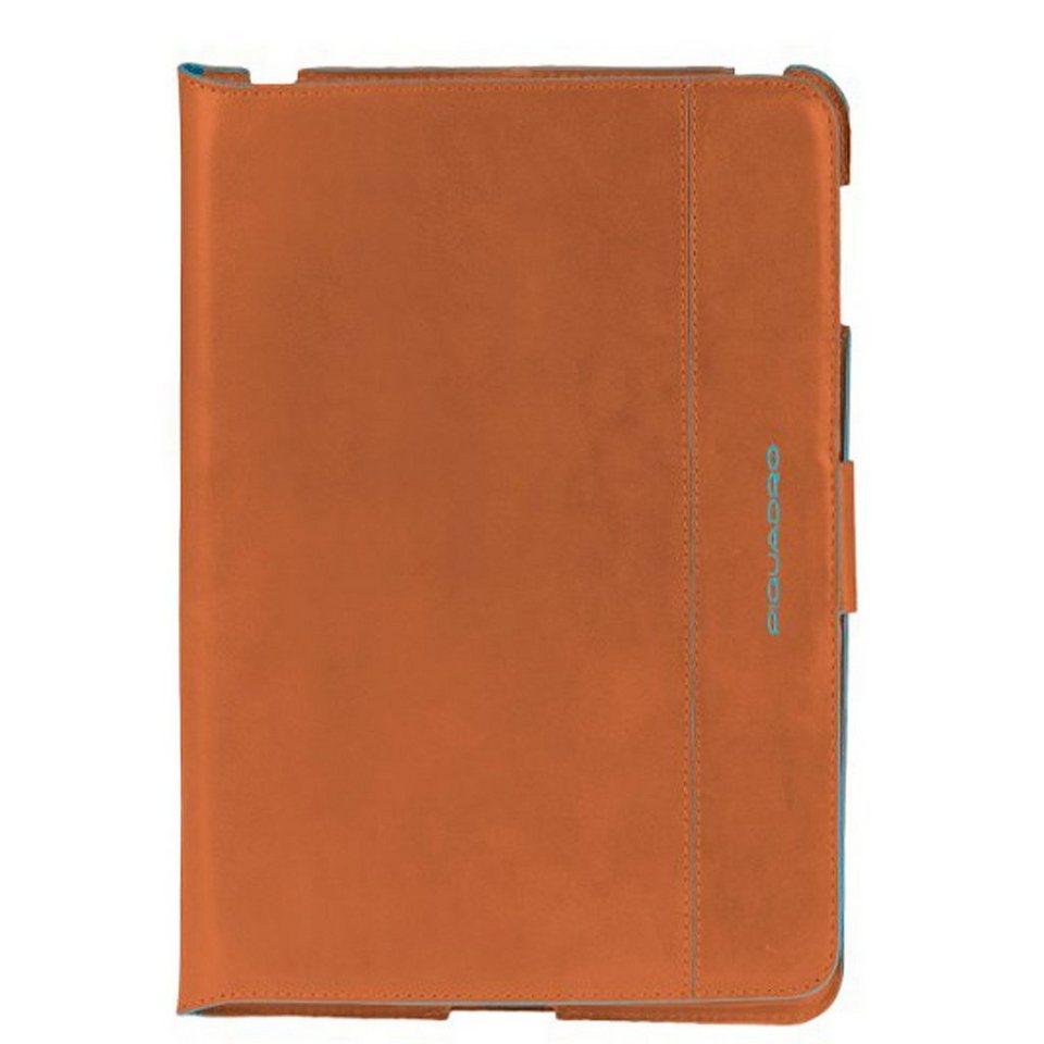 Piquadro Blue Square iPad mini Hülle Leder 15 cm in orange