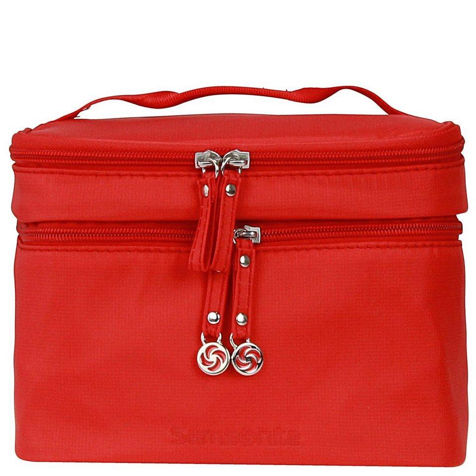 Samsonite Move Cosmetic Cases Toilet Kit Kulturtasche 21,5 cm in poppy red