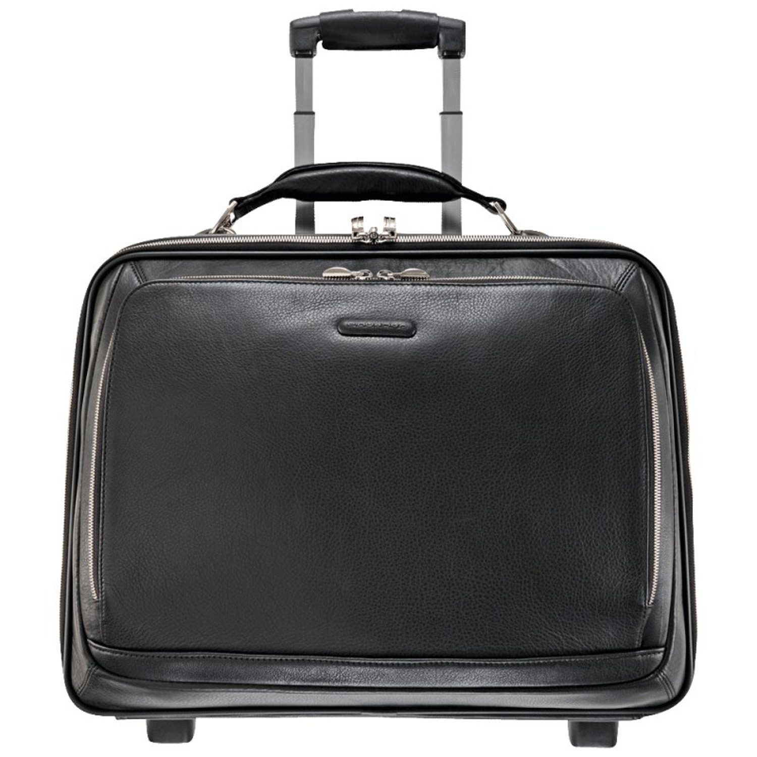 Piquadro Modus 2-Rollen Business Trolley Leder 46 cm Laptopfach