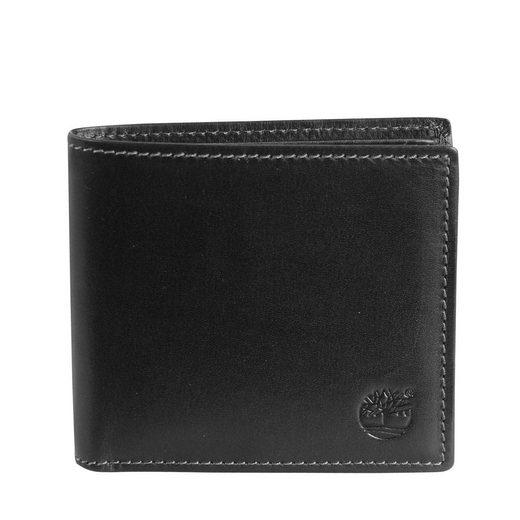 Timberland Men's Wallet Lyndon kleine Geldbörse Quer Leder 10,5 cm