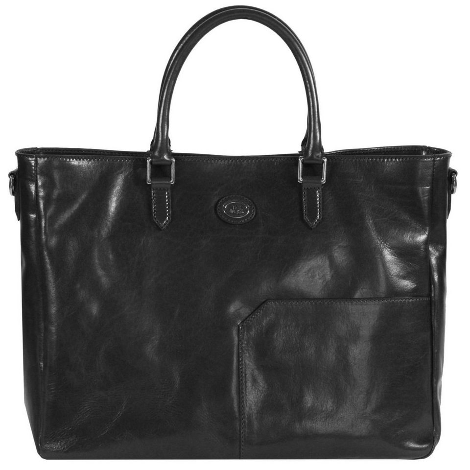 The Bridge The Bridge Bureau Henkeltasche Leder 42 cm in nero