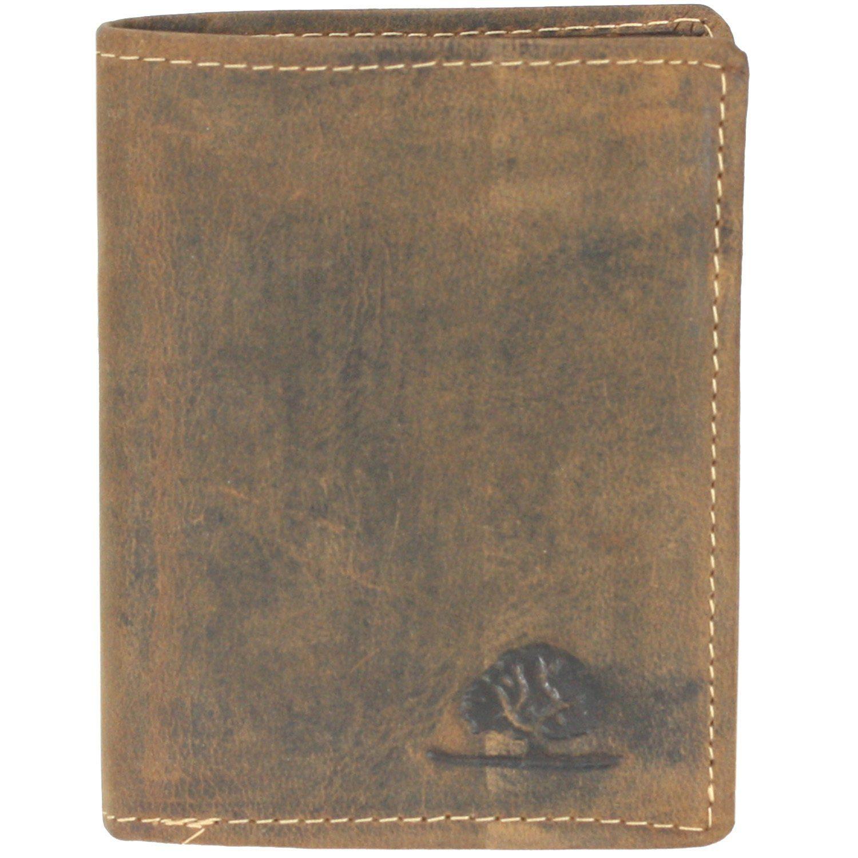 Greenburry Vintage Geldbörse Leder 8,0 cm