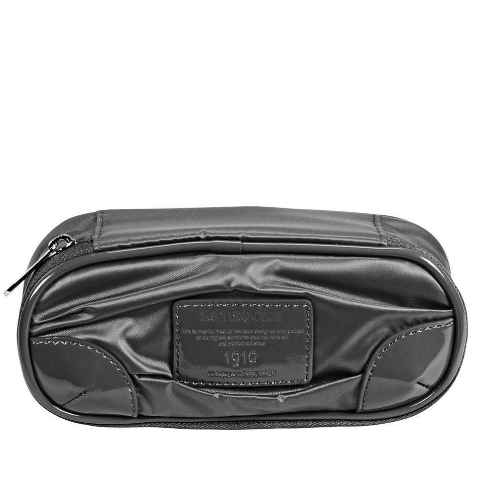 Samsonite Samsonite Thallo Cosmetic Case Make-Up Pouch Kosmetiktasche 18 c in black
