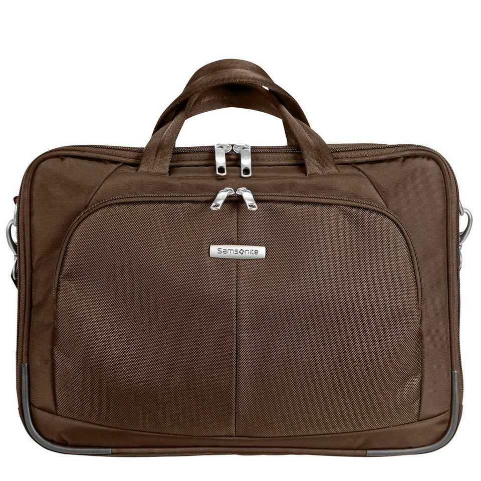 Samsonite Samsonite Intellio Bailhandle Laptoptasche 43,5 cm in dark brown